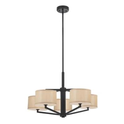 Dolan Lighting 1880-40 Monaco - Five Light Chandelier