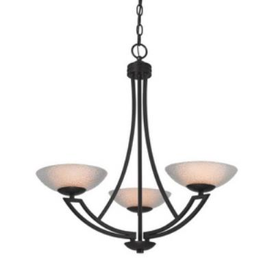 Dolan Lighting 1907-46 Delany - Three Light Chandelier