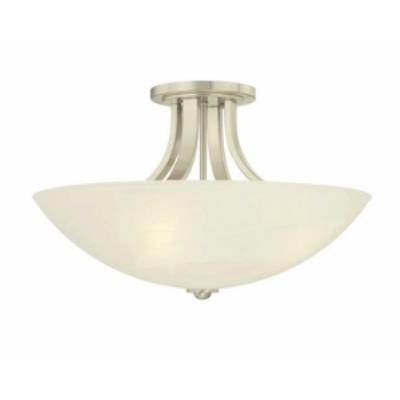 Dolan Lighting 203 Fireside - Three Light Semi - Flush Mount