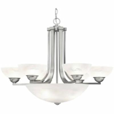 Dolan Lighting 205-09 Fireside - Nine Light Chandelier