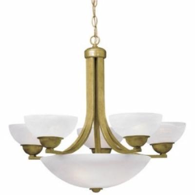 Dolan Lighting 208-09 Fireside - Eight Light Chandelier