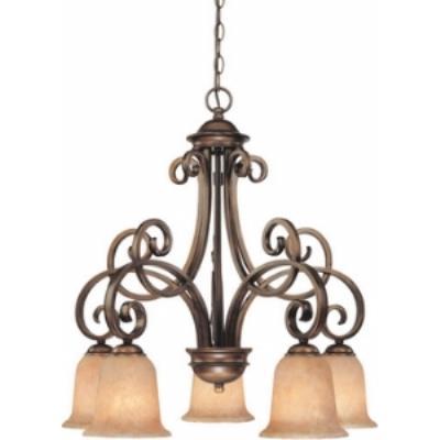 Dolan Lighting 2099-133 Medici - Five Light Chandelier