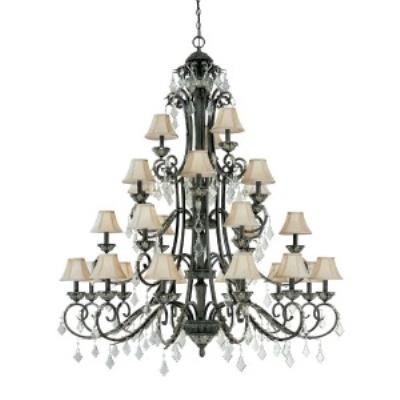 Dolan Lighting 2108 Florence - Twenty - Seven Light Four Tier Chandelier