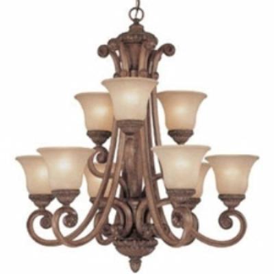 Dolan Lighting 2402-162 Carlyle - Nine Light Chandelier