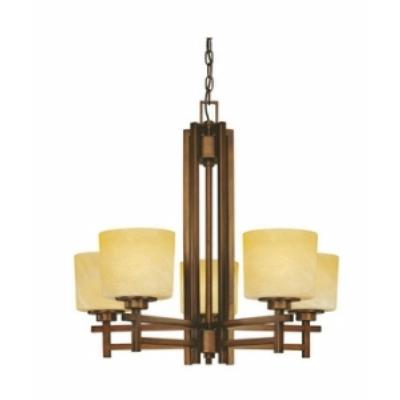 Dolan Lighting 2810 Roxbury - Five Light Chandelier
