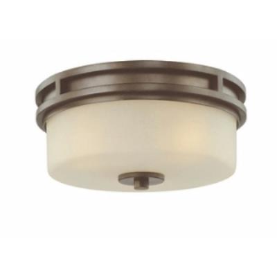 Dolan Lighting 2888-62 Multnomah - Three Light Flush Mount