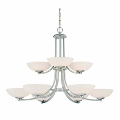 Dolan Lighting 2902-09 Rainier - Nine Light Chandelier