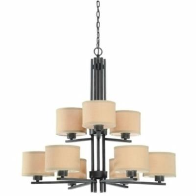 Dolan Lighting 2942-34 Tecido - Nine Light Chandelier