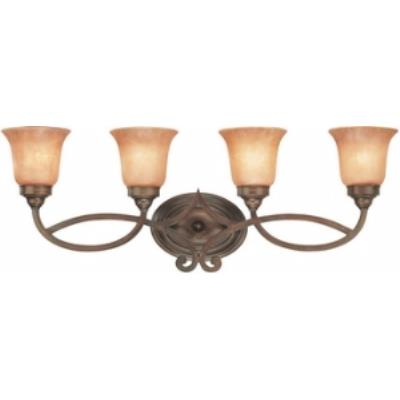Dolan Lighting 3104-133 Medici - Four Light Bath Bar