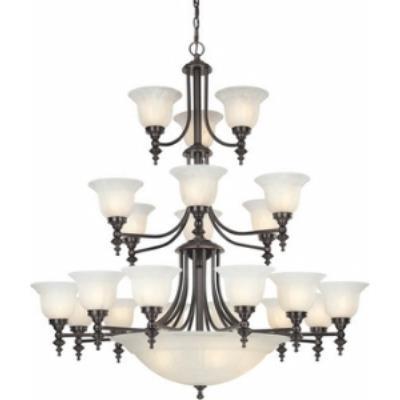 Dolan Lighting 663-30 Richland - Twenty - Six Light Chandelier