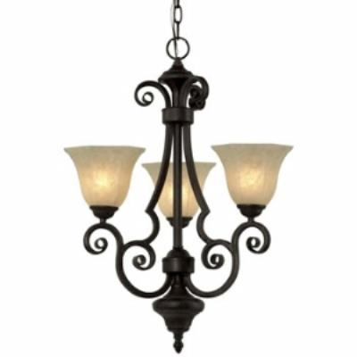 Dolan Lighting 776-34 Winston - Three Light Chandelier