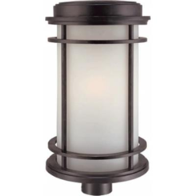 Dolan Lighting 9108-68 La Mirage - One Light Outdoor Post