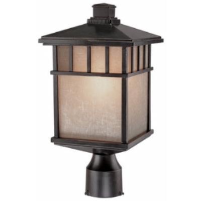 Dolan Lighting 9116-68 Barton - One Light Outdoor Post Mount