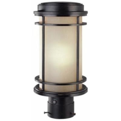 Dolan Lighting 9206-68 La Mirage - One Light Outdoor Post Lantern