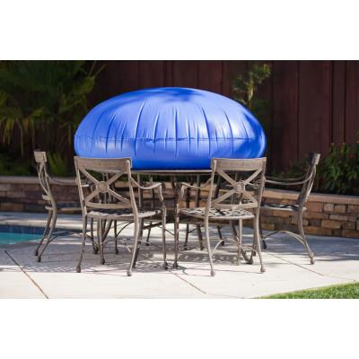 Duck Covers MTR Round Table w/ Chairs Cover  - Latte Finish