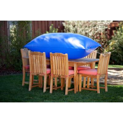 Duck Covers MTS Square Table w/ Chairs Cover  - Latte Finish