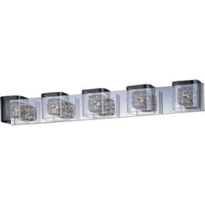 ET2 Lighting E22835-18PC Gem - Five Light Bath Vanity
