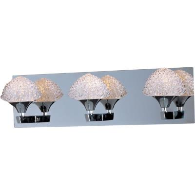 ET2 Lighting E23013-20PC Blossom - Three Light Bath Vanity