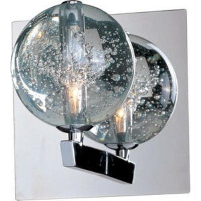ET2 Lighting E24250-91PC Orb - One Light Wall Sconce
