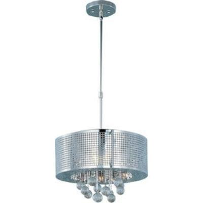 ET2 Lighting E24386-91PC Illusion - Five Light Pendant