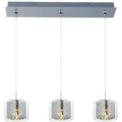 ET2 Lighting E94849-146PC Confetti 3-Light RapidJack Pendant and Canopy