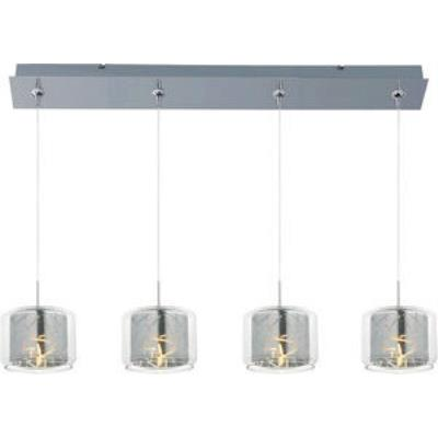 ET2 Lighting E94949-146PC Confetti 4-Light RapidJack Pendant and Canopy