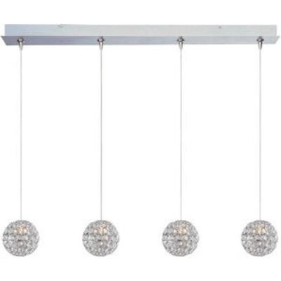ET2 Lighting E94970-20PC Brilliant - Four Light RapidJack Pendant