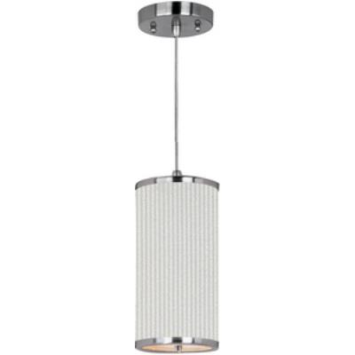 ET2 Lighting E95030-102SN Elements - One Light Mini-Pendant with Cord