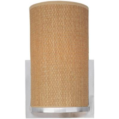ET2 Lighting E95080-101SN Elements - One Light Wall Sconce