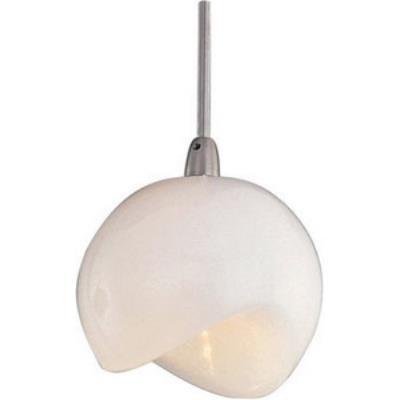 ET2 Lighting EP96006-10SN Opal White 1-Light RapidJack Pendant