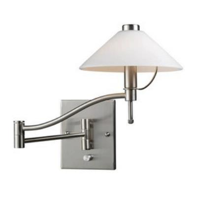 Elk Lighting 10112/1 One Light Swing Arm Wall Sconce