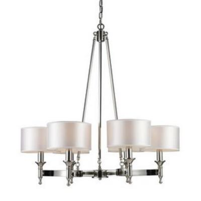 Elk Lighting 10123/6 Pembroke - Six Light Chandelier