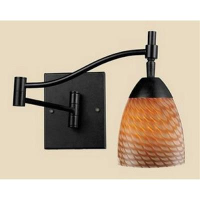 Elk Lighting 10151/1DR-C Celina - One Light Swing Arm Wall Sconce