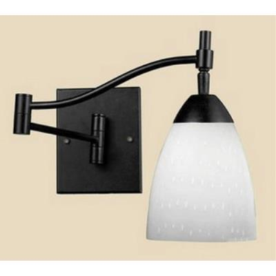Elk Lighting 10151/1DR-WH Celina - One Light Swing Arm Wall Sconce