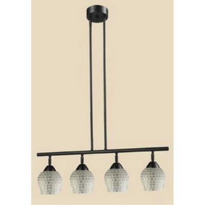 Elk Lighting 10153/4DR-SLV Celina - Four Light Island