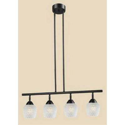 Elk Lighting 10153/4DR-WHT Celina - Four Light Island
