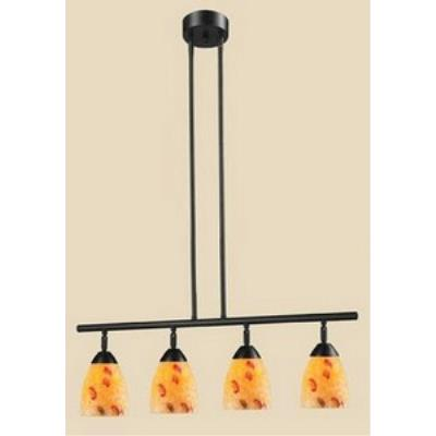 Elk Lighting 10153/4DR-YW Celina - Four Light Island