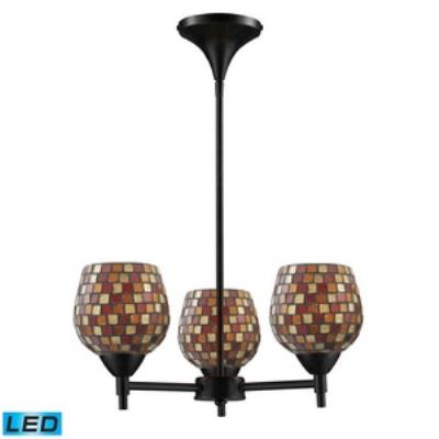 Elk Lighting 10154/3DR-MLT-LED Celina - Three Light Chandelier