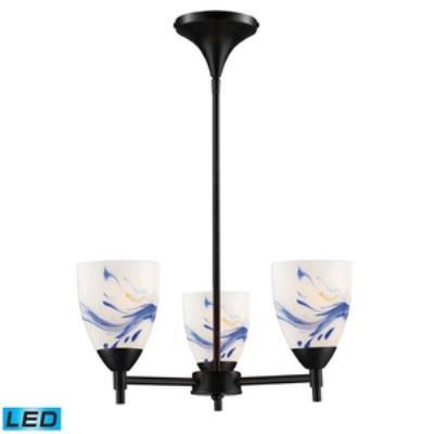 Elk Lighting 10154/3DR-MT-LED Celina - Three Light Chandelier