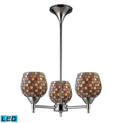 Elk Lighting 10154/3PC-MLT-LED Celina - Three Light Chandelier