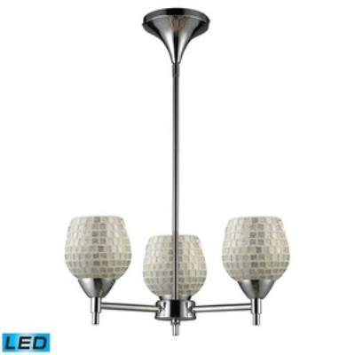 Elk Lighting 10154/3PC-SLV-LED Celina - Three Light Chandelier