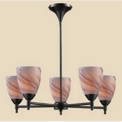 Elk Lighting 10155/5DR-CR Celina - Five Light Chandelier