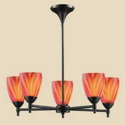 Elk Lighting 10155/5DR-M Celina - Five Light Chandelier
