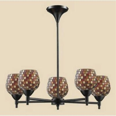Elk Lighting 10155/5DR-MLT Celina - Five Light Chandelier