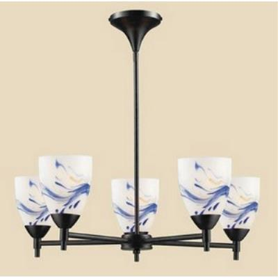 Elk Lighting 10155/5DR-MT Celina - Five Light Chandelier
