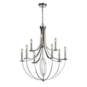 Dione - Nine Light Chandelier