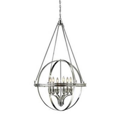 Elk Lighting 10193/6 Hemispheres - Six Light Chandelier