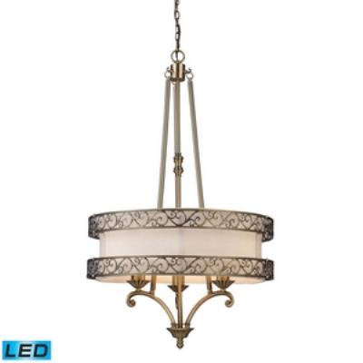 Elk Lighting 11218/3-LED Abington - Three Light Chandelier