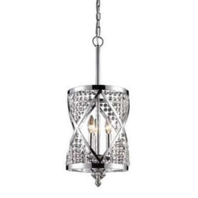 Elk Lighting 11233/3 Crystoria - Three Light Ceiling Lantern