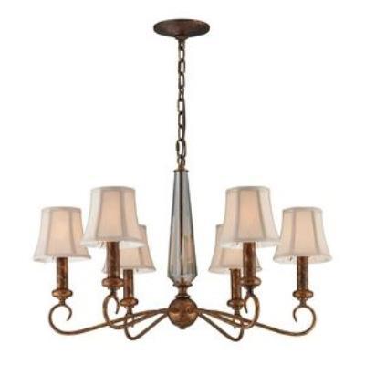 Elk Lighting 11333/6 Crestview - Six Light Chandelier